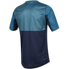 PEARL iZUMi Launch Fietsshirt korte mouwen Heren blauw